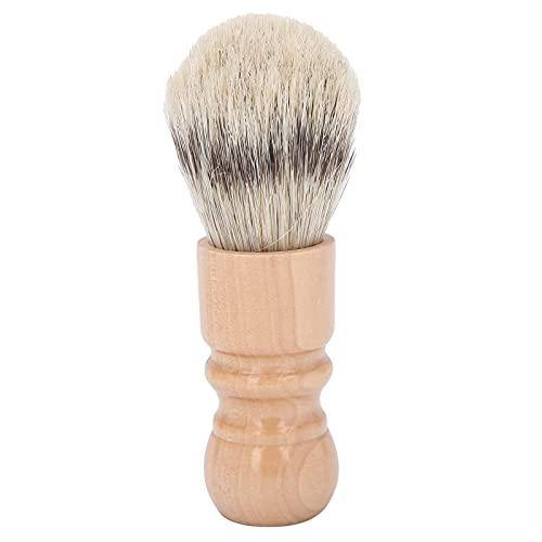 Rasierpinsel für Herren, Profi Bartpinsel, Bart Bürste, Gesichtsreinigungsschaum Borsten Tragbare Bartbürste Barber Brush Pflegewerkzeug