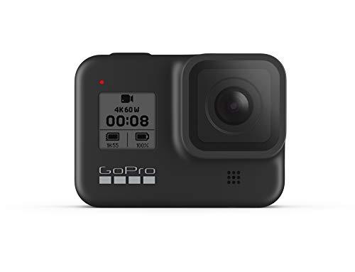 GoPro HERO8 Actioncam, Black - Wasserdichte 4K-Digitalkamera mit Hypersmooth-Stabilisierung, Touchscreen und...