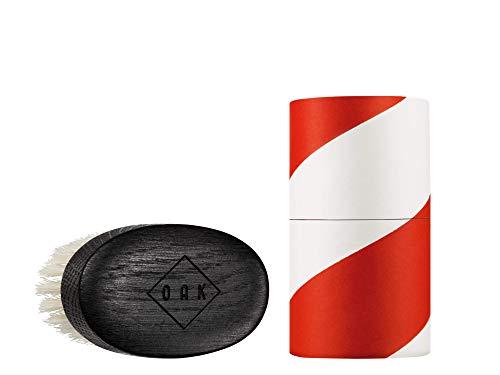 OAK BEARD BRUSH SOFT I Bartbürste (92 x 51 mm): Formt kurze Bärte mit weichen Borsten hautschonend....