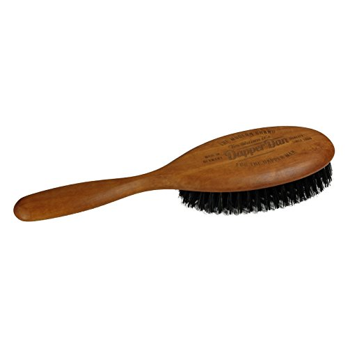 Dapper Dan Haarbürste mit Griff, dunkel XL