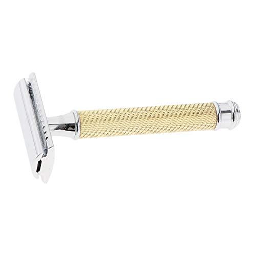 MERIGLARE Sicherheit mit Langem Bambusgriff   Doppelte Sicherheit - Golden, 10 x 4,4 x 2,5 cm