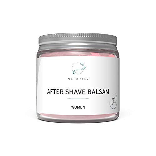 NATURAL7® After Shave Balsam Women | 200ml Frauen-Balsam | Die effektivste Methode gegen Rötungen und Pickel...