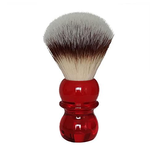 CFSN Rasierpinsel Königin rote Hand weiche synthetische Haar Rasierpinsel Vintage Rasierpinsel, 1 Anzahl 0913