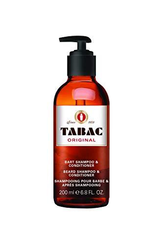 Tabac® Original   Bartshampoo mit dem unverwechselbaren Duft von Tabac Original - optimale Reinigung - sanfte Pflege des Barthaars - Original Seit 1959   200ml