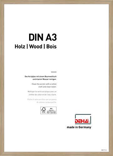 DEHA Holz Bilderrahmen Fontana, 29,7x42 cm, Eiche
