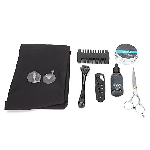 Bartpflege-Set, Schürze Bartroller für den Urlaub für den Salon für Zuhause