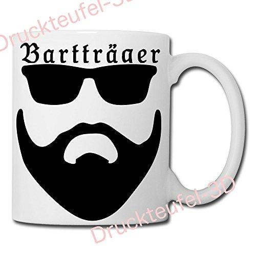 Druckteufel-3D - Bartträger - Tasse - Kaffeebecher