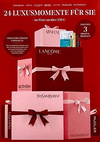 Beauty Adventskalender für Damen - Exklusiv Edition - 24 Premiummomente für Sie - Wert von über 350 € - Kosmetik - Make-Up - Limitiert