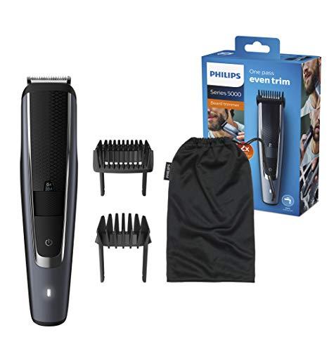 Philips Barttrimmer BT5502/15, 40 verschiedene Looks (0,4 - 20 mm), gleichmäßiges Trimmen und langanhaltende...