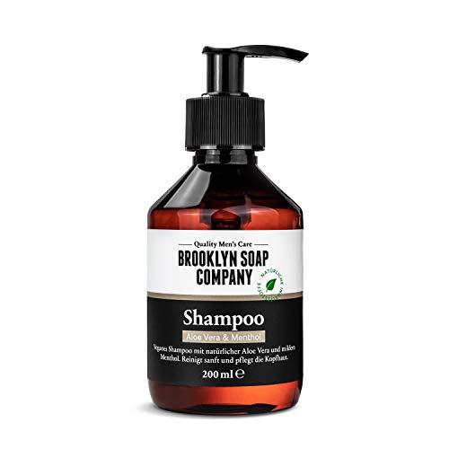 Shampoo (200ml) · BROOKLYN SOAP COMPANY · Reinigt sanft und pflegt die Kopfhaut mit natürlicher Aloe Vera
