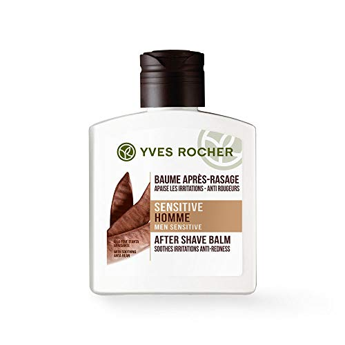 Yves Rocher SENSITIVE HOMME After-Shave-Balsam, besänftigender Balsam nach der Rasur, für empfindliche Haut,...