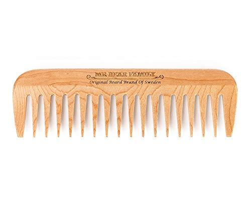 Wooden Beard Comb 1 stk