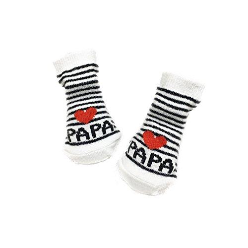 Tangbasi Baby Mädchen (0-24 Monate) Socken Papa einheitsgröße