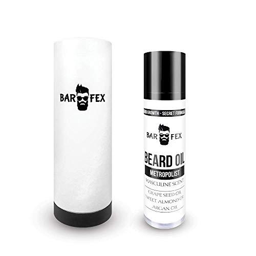 Premium Bartöl Wachstum ● Made in Germany ● Bartwuchsmittel Männer ● Beard Growth Oil von BarFex