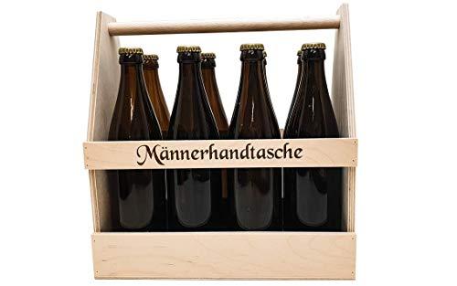 8er Bierträger Männerhandtasche, Flaschenträger