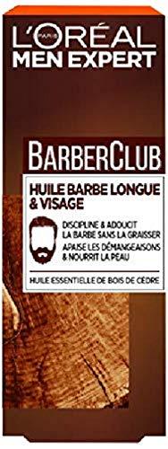 L'Oréal Men Expert BarberClub Herrenöl mit ätherischem Zedernholz 30 ml, 1 Stück