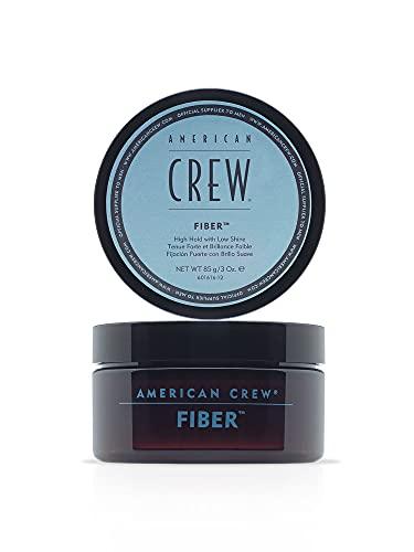 AMERICAN CREW – Classic Fiber, 85 g, Haarwachs für Männer, Haarprodukt mit starkem Halt, Stylingprodukt für viel Textur & mattes Finish, zur täglichen Anwendung