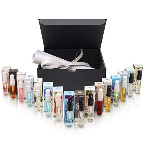 Parfümset mit 16 exotischen Düften á 3ml - ideal als Geschenk/Geschenkidee für Freundin/Mutter zum Muttertag