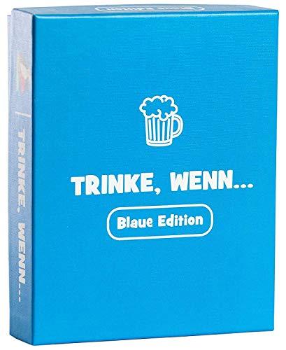 Trinke, wenn.. Das witzige Geschenk für Männer und Frauen - Spiele für Erwachsene als lustiges Wichtelgeschenk / Geburtstagsgeschenk - Trinkspiele Saufspiel Scherzartikel Silvester