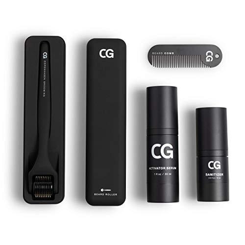 Copenhagen Grooming Beard Growth Kit (50 Tage Vorrat) - Bart Wachstum Set - Bartwuchsmittel Männer -...