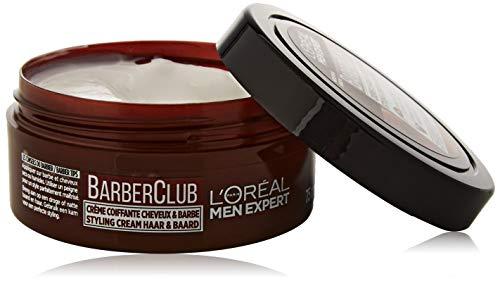 L'Oreal Men Expert Barber Club Bart und Haar Styling Pomade (1 x 75 ml)