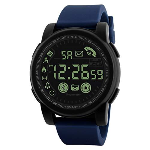UINGKID Collection Unisex-Armbanduhr Fitness Tracker wasserdichte Bluetooth Smart Watch Sport Schrittzähler für Android iOS