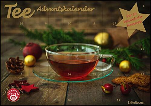 Tee-Adventskalender 2022 - Teekalender - Adventskalender - Teesorten - Genusskalender - 55,5 x 39 x 2 cm