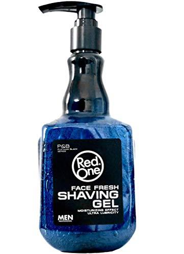 Redone Shaving Gel Men Rasiergel Transparent Herren 1000 ml nicht-schäumend präzise Rasur der Bartkonturen