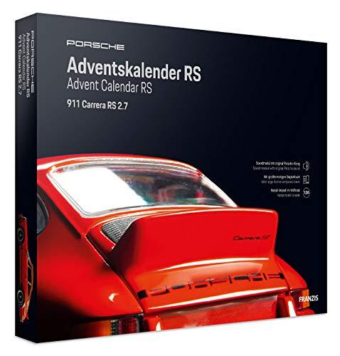FRANZIS Porsche Carrera RS Adventskalender   in 24 Schritten zum Porsche RS unterm Weihnachtsbaum   Ab 14 Jahren