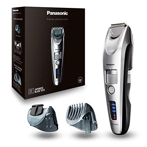 Panasonic Premium Bartschneider ER-SB60, 19 Längeneinstellungen, Barttrimmer 0,5-10 mm, Trimmer für Herren,...