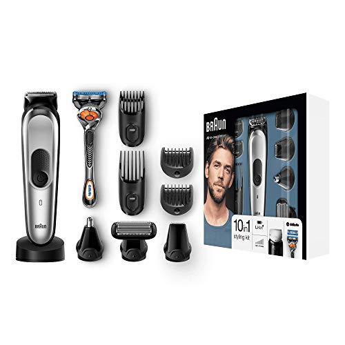 Braun 10-in-1 Multi-Grooming-Kit MGK7020 – Bartpflege Set für Herren mit Bart- und Körperhaartrimmern,...