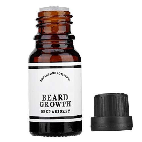Changor Sicher Männer Bart Öl, Bart Klimaanlage Bart Furkation Bart Glatt Traube Samen Öl mit Flüssig