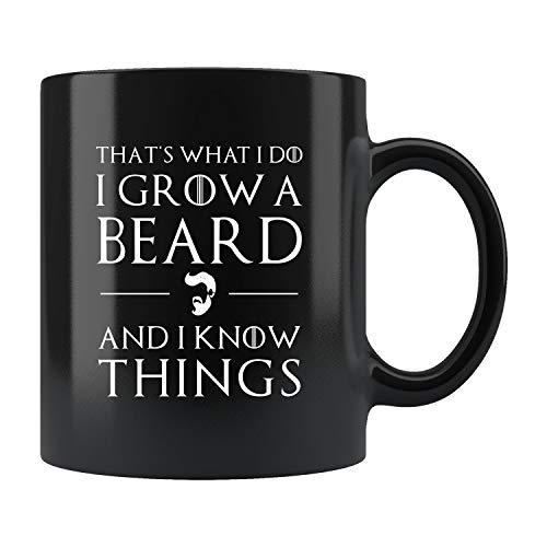 Diuangfoong Lustige Tasse für Mann, Bartbecher, Bartkaffeetasse, Bartgeschenk, Bartliebhaber, lustige...