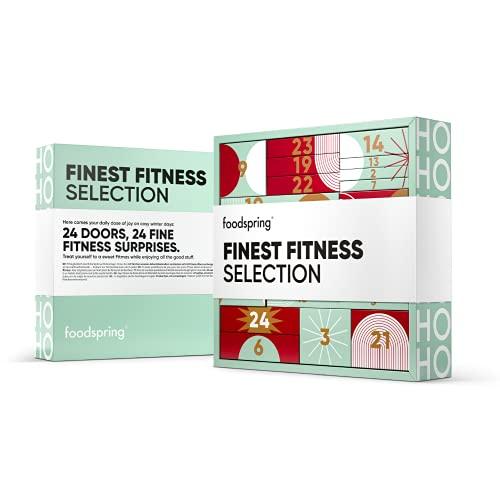 foodspring Adventskalender 2021, Fine Fitness Selection, 1720g, 24 feine Fitness Überraschungen: Für eine fitness-freundliche Vorweihnachtszeit