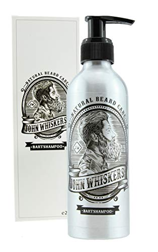 John Whiskers Bartshampoo - Made in Germany – 2in1 Bartseife mit unvergleichbarem Duft – Vegan & ohne...