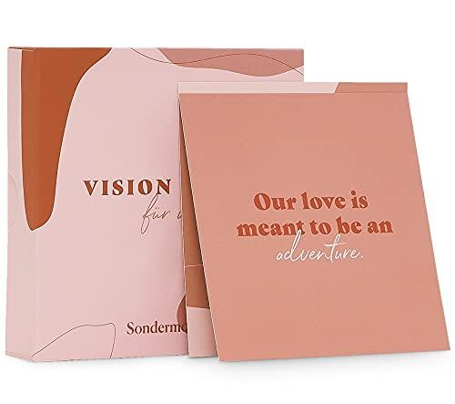 Sondermoment Vision Cards 'Für Uns' - Dekorative Motivationskarten und Affirmationskarten für mehr Achtsamkeit in der Beziehung | Ideal für euer Paar Vision Board