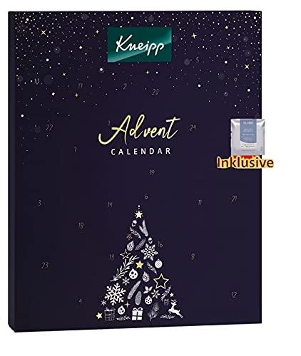 Kneipp Adventskalender 2021 Bad - Wellness Pflege Advent Kalender für Frau & Mann, 24 Beauty Geschenke Wert 130€, Weihnachtskalender, Adventkalender