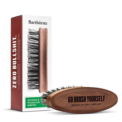 Bartbürste · BROOKLYN SOAP COMPANY · Bürste mit veganen Borsten - für die tägliche Bartpflege von...