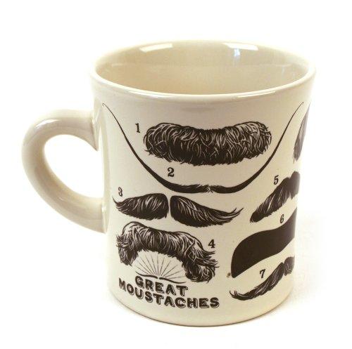 Schnurrbart Kaffeebecher