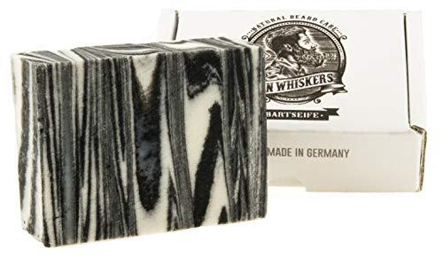 John Whiskers Bartseife - Made in Germany - natürliche Bartpflege mit Sheabutter und Kokosöl aus...