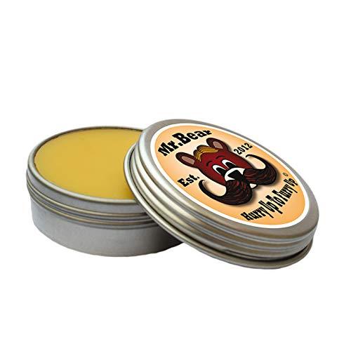 Mr. Bear Family: Moustache Wax'Hurry up' Original Citrus - Schnurrbartwachs