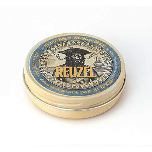 Reuzel - Wood and Spice Beard Balm - Spendet der Haut Feuchtigkeit - Lindert Reizungen durch Rasierpickel -...
