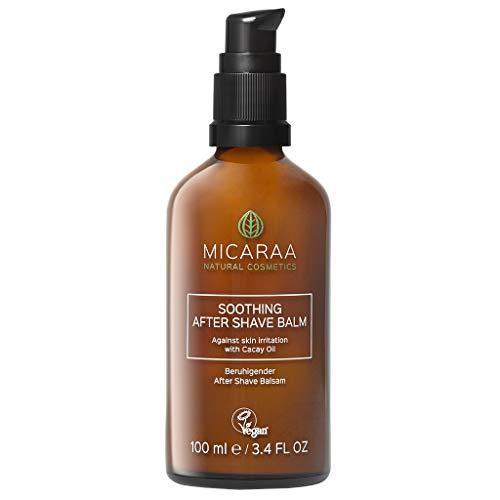 MICARAA veganer Body After-Shave Balsam Gegen Rasurbrand, Eingewachsene Haare Und Rasierpickel, Intimpflege,...