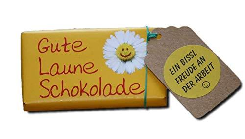 Kollegen Dankeschön   kleine Aufmerksamkeit Kollegen   Danke Geschenk Büro Firma   Spass an der Arbeit Geschenke   Kleine Überraschung Kollegin   Gute Laune Schokolade