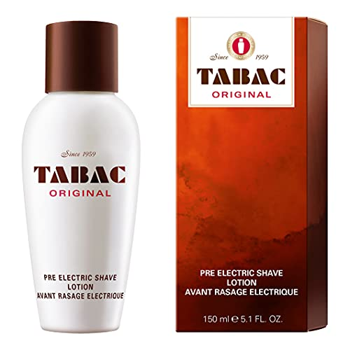 Tabac® Original | Pre Electric Shave Lotion - optimale Vorbereitung für Elektrorasur - Original Seit 1959 | 150ml