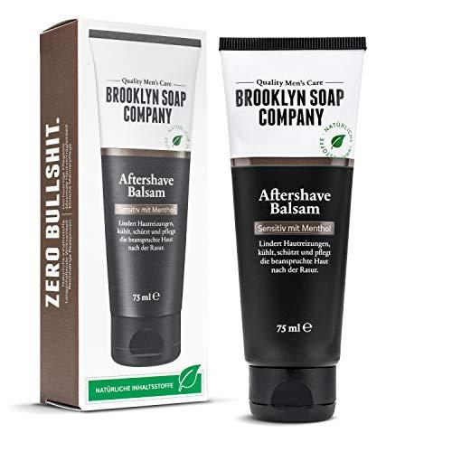 Aftershave Balsam (75ml) · Brooklyn Soap Company · Natürliche Männerpflege nach der Rasur · Lindert...