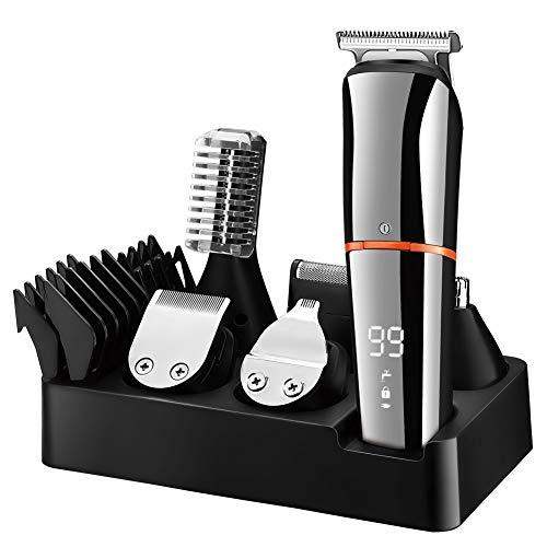 SURKER Barttrimmer Bartschneider für Herren Haarschneider Haartrimmer Körperhaare Nasenhaar Groomer...