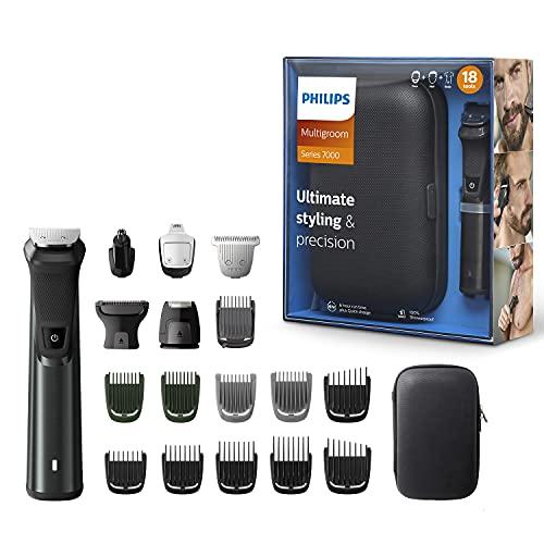 Philips MG7785/20 Multigroom Series 7000 18-in-1 Trimmer für Körper und Gesicht