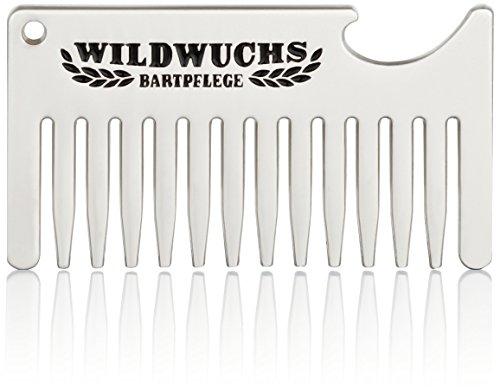 Wildwuchs Bartpflege Bartkamm Beer&Beard Schlüsselanhänger Flaschenöffner Männer