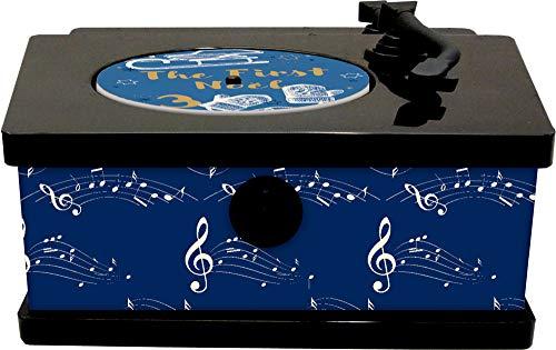 Sound-Adventskalender - It's Christmas Time: Vintage-Plattenspieler mit 24 Weihnachtssongs